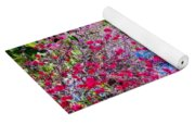 Tropical Garden Around Pool Yoga Mat