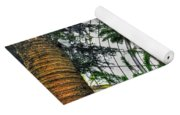 Tropical Paradise Falling Waters Buffalo Botanical Gardens Series   Yoga Mat