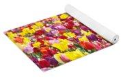 Tulip Flower Festival Art Prints Spring Yoga Mat