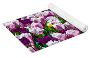 Tulips Field Yoga Mat
