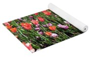 Tulips - Field With Love 56 Yoga Mat