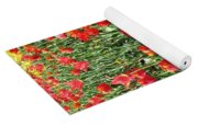 Tulips - Field With Love 62 Yoga Mat