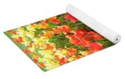 Tulips - Field With Love 68 Yoga Mat