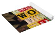 Turn Your Wounds Into Wisdom  Yoga Mat