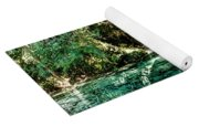 Turquoise Forest Pond On A Summer Day No1 Yoga Mat