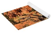 Twisted And Colorful Yoga Mat