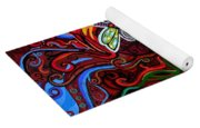 Two Dragonflies Yoga Mat