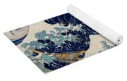 Under The Great Wave Off Kanagawa Yoga Mat