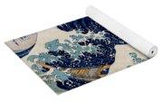 Under The Great Wave Off Kanagawa Yoga Mat