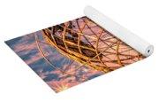 Unisphere At Sunset Yoga Mat
