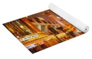 Usa, Nevada, Las Vegas, Night Yoga Mat