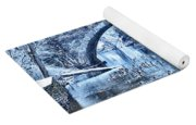 Valley Green Ducks In Winter Yoga Mat
