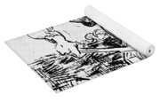 Peasant Hoeing Yoga Mat