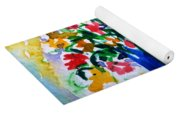 Vase With Flowers Yoga Mat