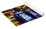 Vegas Slot Machines Yoga Mat