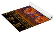 Vietnamese Temple Shrine Yoga Mat