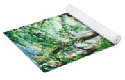 View Of Woodside Lake Yoga Mat