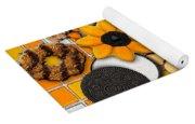 Vincent's Sunflower Cookie Jar Yoga Mat