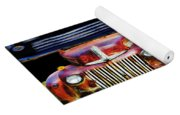 Vintage Cars Collage 2 Yoga Mat