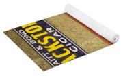 Vintage Cigar And Tobacco Signs Dsc07152 Yoga Mat