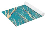 Vintage Trees Yoga Mat