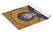 Virgin Mary And Christ Child Yoga Mat