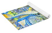 Visions Of Perceptive Elements Yoga Mat