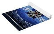 Vitruvian Cyberman In Deep Space  Yoga Mat