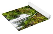 Wahclella Falls In Oregon Yoga Mat
