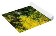 Walking An Autumn Path Yoga Mat