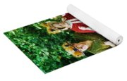 Walking With Squirrels  Yoga Mat
