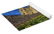 Warkworth Castle In Spring Yoga Mat