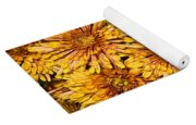 Warm And Sunny Yellows Golds And Oranges Yoga Mat