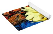 Water Lilly Pond Yoga Mat