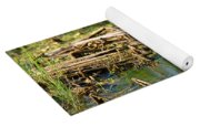 Water Rail Reflection Yoga Mat