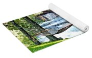 Waterfall And Hammock In Summer 3 Yoga Mat
