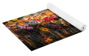 Waterfalls Childs National Park Painted    Yoga Mat