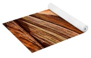 Wave Lines Yoga Mat