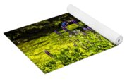 Where The Lupines Grow Yoga Mat