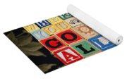Wherever You Go Go With All Your Heart Yoga Mat