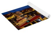 Whitby Upper Harbour At Night Yoga Mat