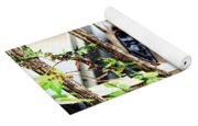 White Picket Fence Yoga Mat