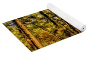 Whitebog Village Woods In New Jersey  Yoga Mat