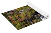 Whitewater Falls With Rainbow Yoga Mat