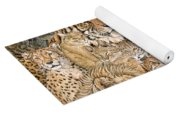 Wild Cat Spread Yoga Mat