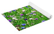 Wild Flowers Yoga Mat