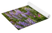 Wild Flowers Display Yoga Mat