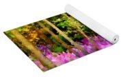 Wild Forest Violets Yoga Mat
