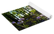 Wildflower Sunset Yoga Mat