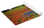 Wildflower Tapestry Yoga Mat